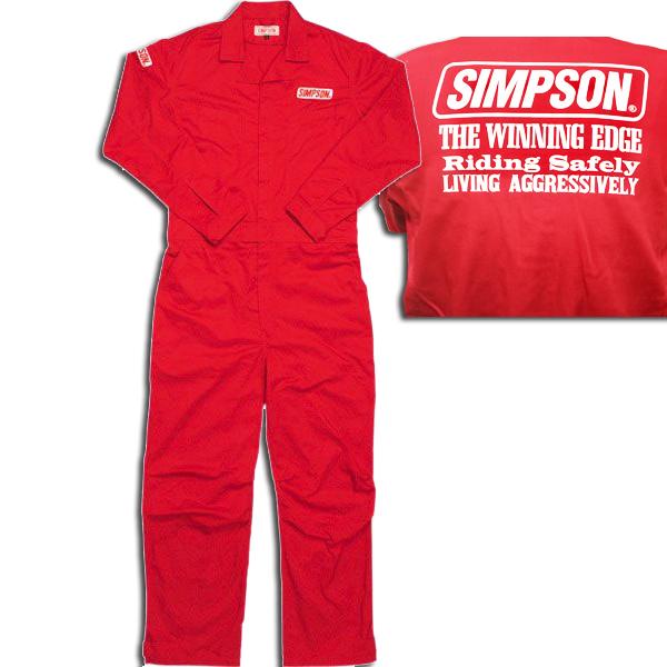 SIMPSON 【WEB限定・ラスト1点!】SMS-01 メカニックスーツ 3L