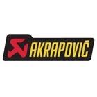 AKRAPOVIC ポリ耐熱ステッカー(カーボンエンドキャップ部用)