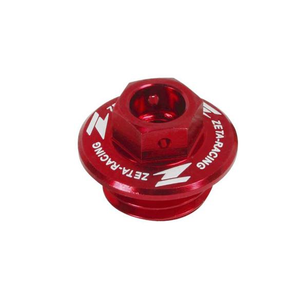DIRTFREAK ZE89-2110 ZETA オイルフィラーキャップ CR/CRF, YZ/YZF/WRF, KLX etc RED