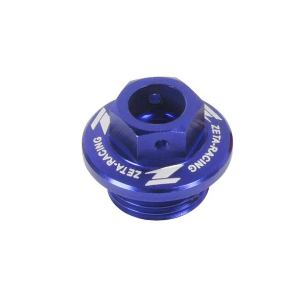 DIRTFREAK ZE89-2112 ZETA オイルフィラーキャップ CR/CRF, YZ/YZF/WRF, KLX etc BLU