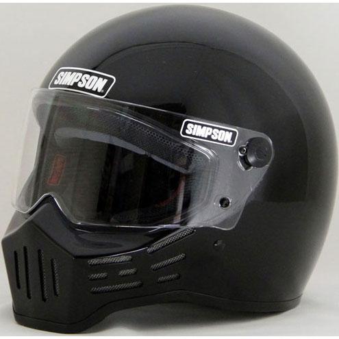 SIMPSON 〔WEB価格〕MODEL30 『M30』 ブラック フルフェイス ヘルメット