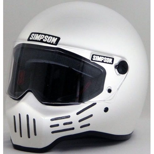 MODEL30 『M30』 ホワイト フルフェイス ヘルメット