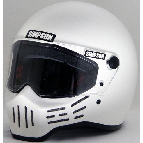 SIMPSON 〔WEB価格〕MODEL30 『M30』 ホワイト フルフェイス ヘルメット