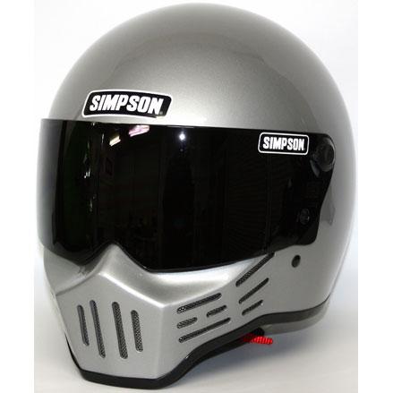 SIMPSON 【お取り寄せ】 MODEL30 『M30』 シルバー フルフェイスヘルメット シルバー