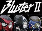 N-PROJECT BLUSTERⅡ(ブラスター2)  VTR250 黒ゲルエアロスクリーン