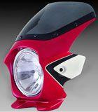 N-PROJECT BLUSTERⅡ(ブラスター2) CB400SF RV '08- キャンディーブレイジングRDツートン  エアロスクリーン