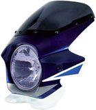 N-PROJECT BLUSTERⅡ(ブラスター2) GSX1400 '02 WH/BL トライカラー  エアロスクリーン