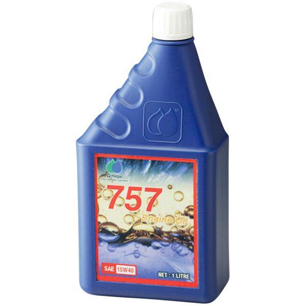 OMEGA MOTOR OIL 757エンジンオイル SAE 15W40  1L 4582264390593