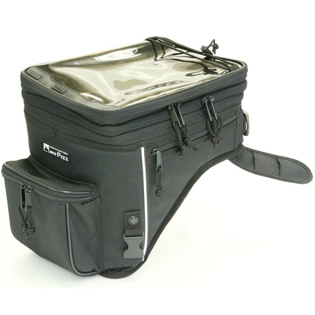 TANAX 〔WEB価格〕ラリータンクバッグ MFK-180 ブラック 4510819104371 縦360×横225×高さ290-390mm(13-21L)
