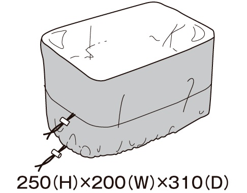 TANAX レインカバー MFK-176・177用