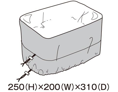 TANAX 〔WEB価格〕レインカバー MFK-176・177用