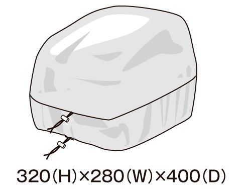 TANAX 〔WEB価格〕レインカバー MFK-181用