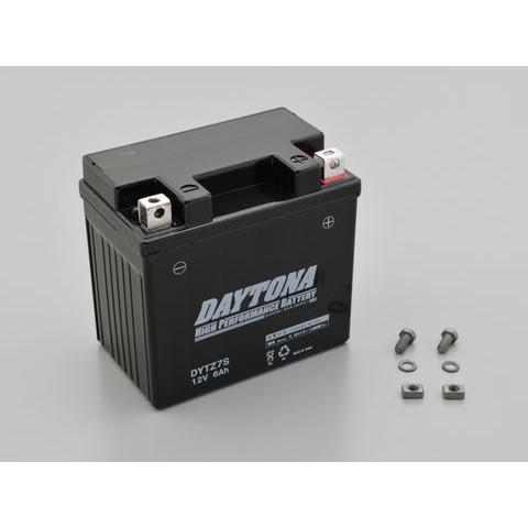 DAYTONA 92881 ハイパフォーマンスバッテリー【DYTZ7S】MFタイプ