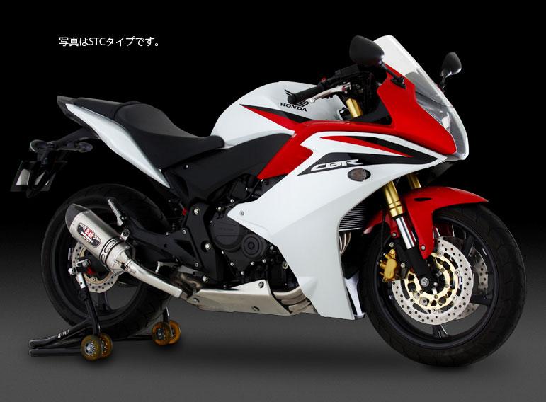 YOSHIMURA JAPAN 【お取り寄せ】Slip-On R-77SサイクロンEXPORT SPEC  政府認証(STC) CBR600F 2011~2012年他〔決済区分:代引き不可〕