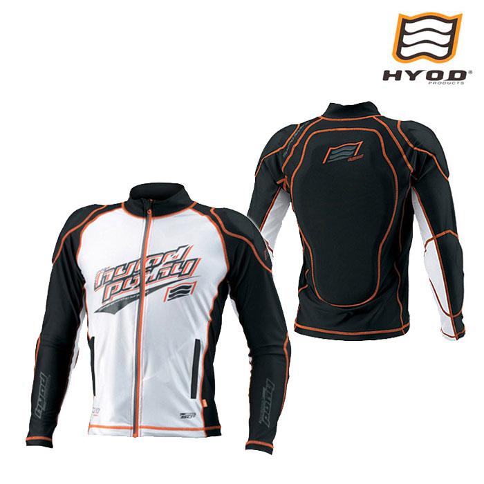 HYOD PRODUCTS STU105D D3O COOL RUSH GUARD WHITE/ORANGE STITCH◆全2色◆