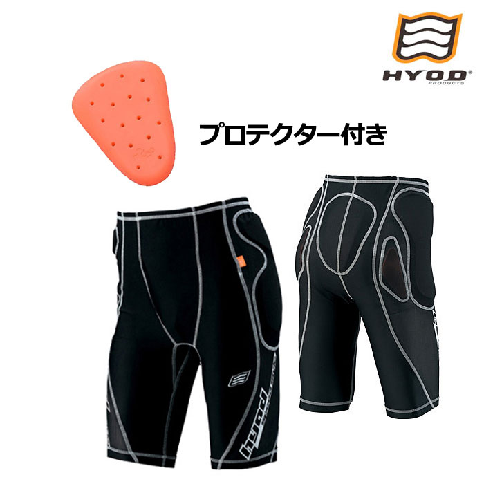 HYOD PRODUCTS HRU004D D3O UNDER PANTS ブラック/ホワイトステッチ◆全2色◆