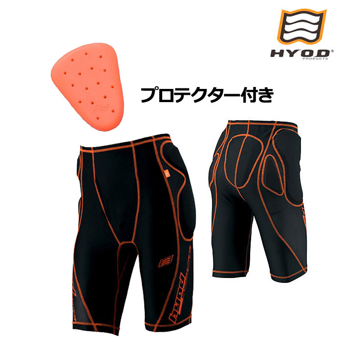 HYOD PRODUCTS HRU004D D3O UNDER PANTS ブラック/オレンジステッチ◆全2色◆