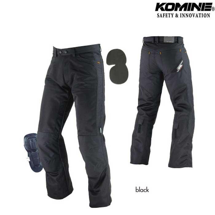 komine 〔WEB価格〕【大きいサイズ】 PK-710 メッシュライディングジーンズ II