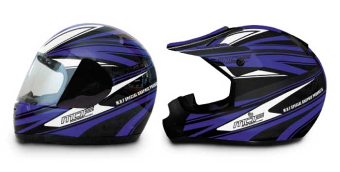 MDF ヘルメットグラフィック「ATTACKER MODEL」