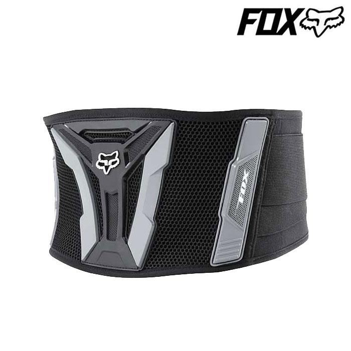 FOX RACING FOX ターボベルト  ADULT ブラック/グレー