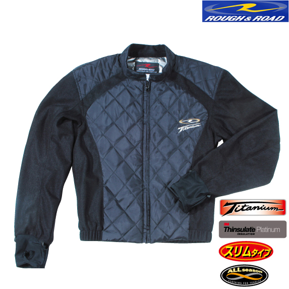 RR6883 チタンシンサレートスリムインナージャケット 防寒 防風