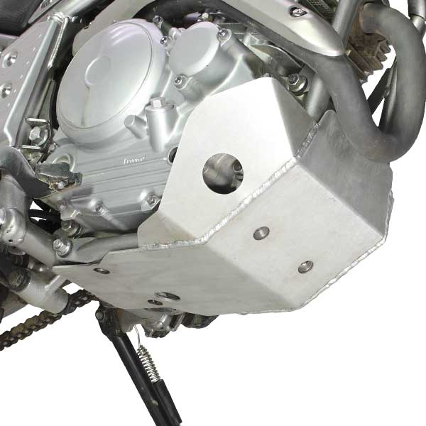 DIRTFREAK 【WEB価格】ZE55-2420 ZETA EDスキッドプレート LT 3.2mm XT250X/Serow250-'17