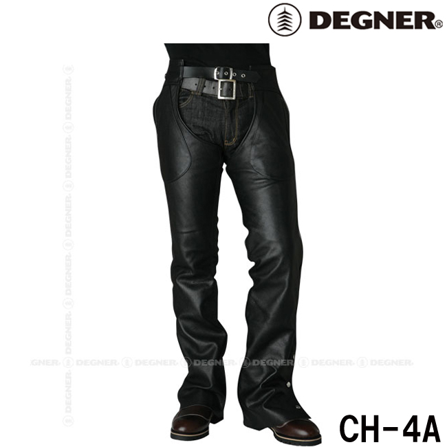 DEGNER CH-4A レザーチャップス/LEATHER CHAPS (スリム)