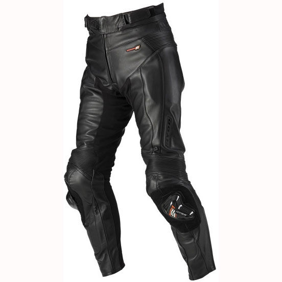 HYOD PRODUCTS ST-X LEATHER PANTS (BOOTS-IN) BLACK