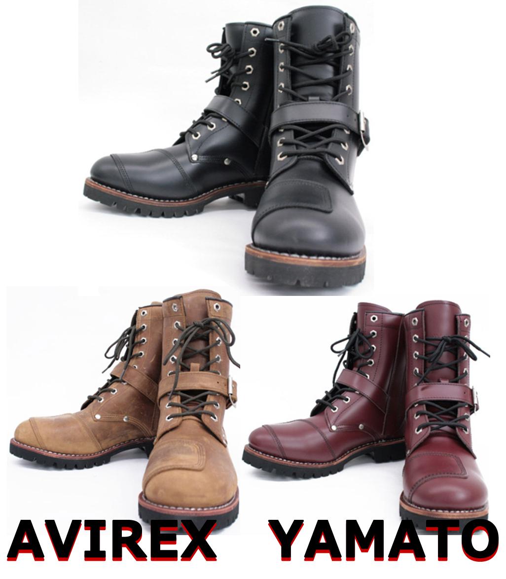 AVIREX ライダースブーツ YAMATO