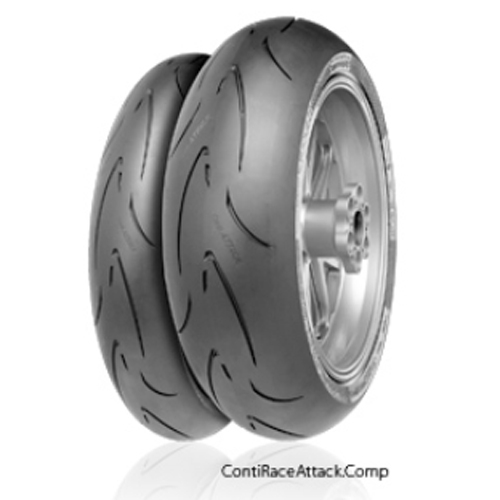 Continental ContiRaceAttack Comp. Soft 190/55ZR17