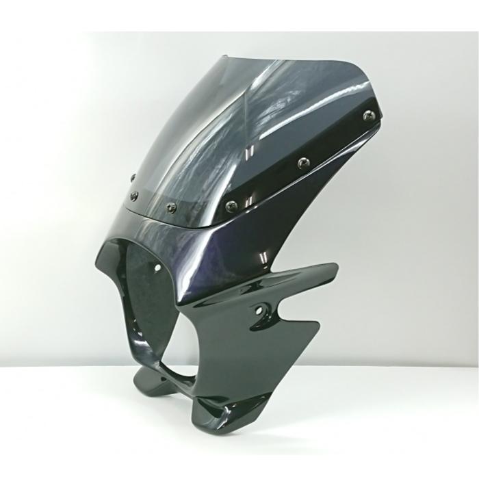 N-PROJECT BLUSTERⅡ(ブラスター2) ZEPHYR1100 パールパープリッシュブラックマイカ STDスクリーン