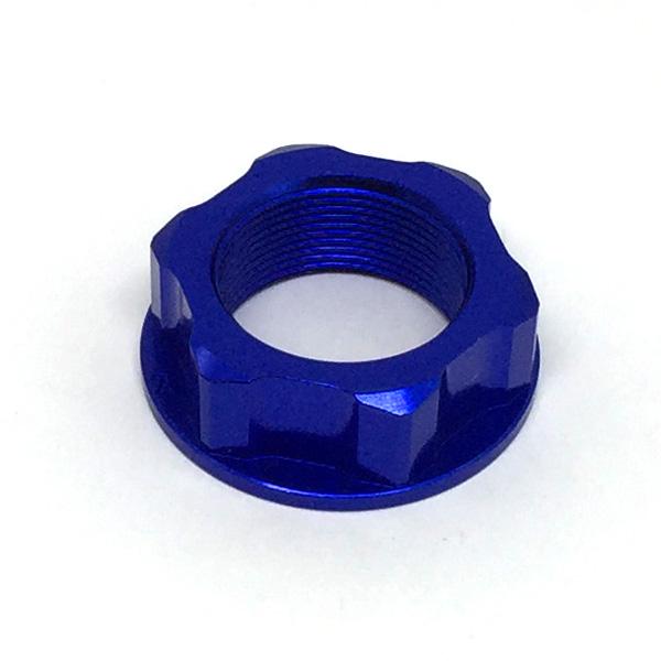 DIRTFREAK 【WEB価格】ZE58-2032 ZETA ステアリングステムナット M22x30-P1.0 H12 BLUE
