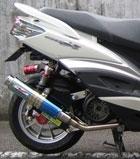 RPM 【お取り寄せ】80D-RAPTOR(ラプター) チタンマフラー