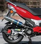 RPM 【お取り寄せ】80D-RAPTOR(ラプター) チタンマフラー〔決済区分:代引き不可〕