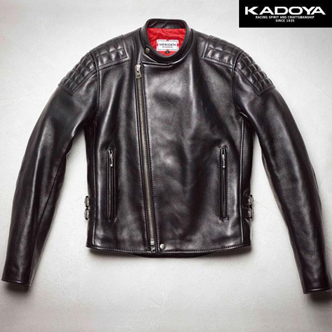 KADOYA 〔WEB価格〕【受注生産】 SPEED-TWIN シングルレザージャケット