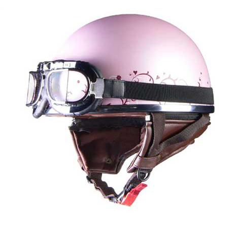 リード工業 〔WEB価格〕レディースハーフヘルメット