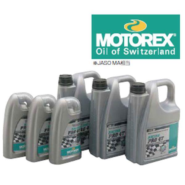 MOTOREX 76395 MOTOREX RACING PRO 4T 5W-30 1L オイル 4909449407974