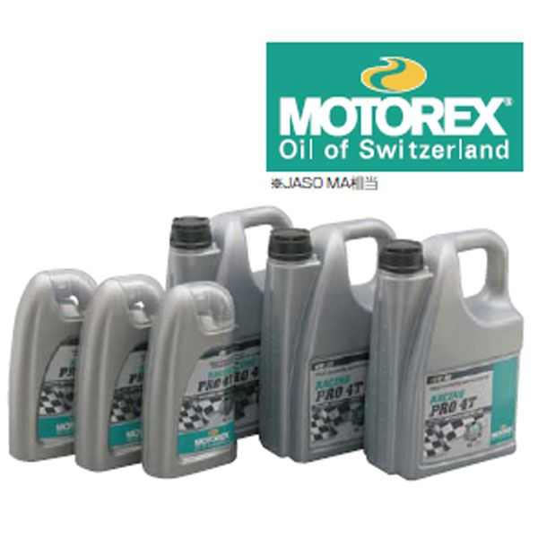 MOTOREX 〔WEB価格〕76395 MOTOREX RACING PRO 4T 5W-30 1L オイル 4909449407974