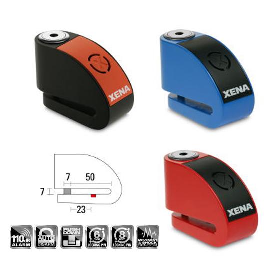XENA XRシリーズ ディスクアラーム