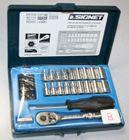 SIGNET 1/4 ソケットレンチSET ミリ/インチ