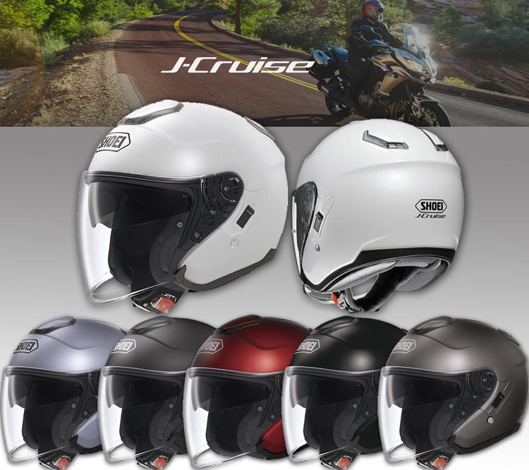 SHOEI ヘルメット 【通販限定】〔在庫限り 店頭在庫品 化粧箱無し〕J-CRUISE ジェットヘルメット