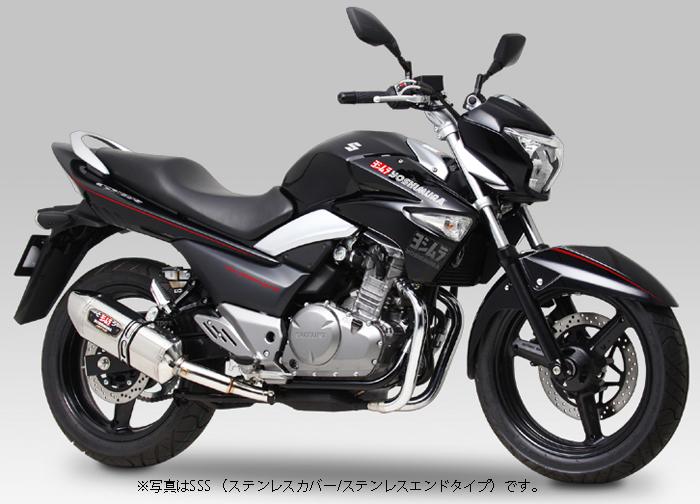 YOSHIMURA JAPAN 【お取り寄せ】Slip-On R-77Jサイクロン EXPORT SPEC GSR250 '12-'14,GSR250S '14〔決済区分:代引き不可〕