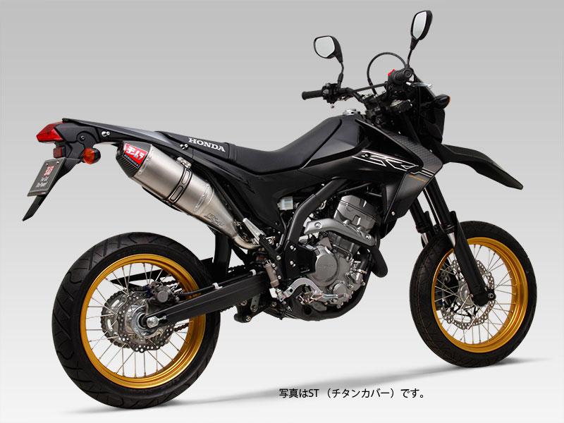 YOSHIMURA JAPAN 【WEB価格】Slip-On RS-4Jサイクロン カーボンエンド EXPORT SPEC CRF250L 2012~2016年他〔決済区分:代引き不可〕