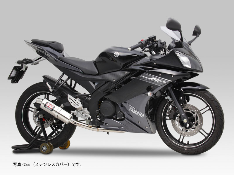 YOSHIMURA JAPAN 【お取り寄せ】Tri-Ovalサイクロン EXPORT SPEC YZF-R15 2012年〔決済区分:代引き不可〕