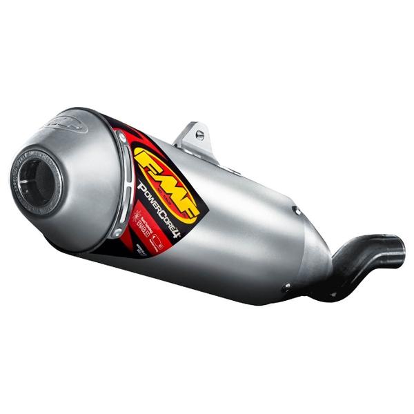 FMF 〔WEB価格〕【お取り寄せ】43011 POWER CORE 4SA スリップオン レーシングマフラー スズキ DR-Z400R 2000~2005〔決済区分:代引き不可〕