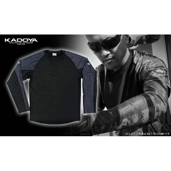 KADOYA SSPD/ラグランロングT- カーボン