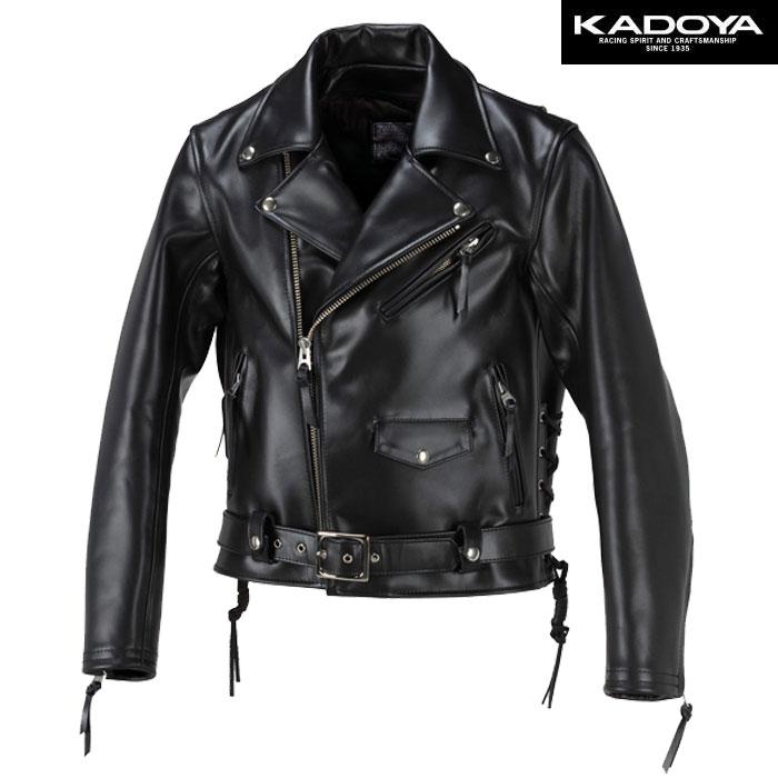 KADOYA 【大きいサイズ】  FPW-R ダブルレザージャケット 防寒 防風