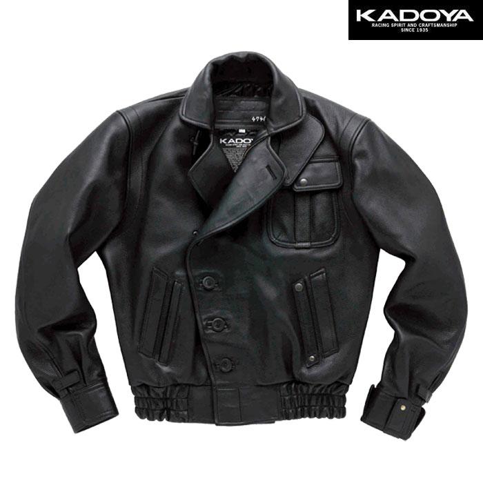 KADOYA 【受注生産】 【大きいサイズ】 GOD SPEED 1 ダブルレザージャケット