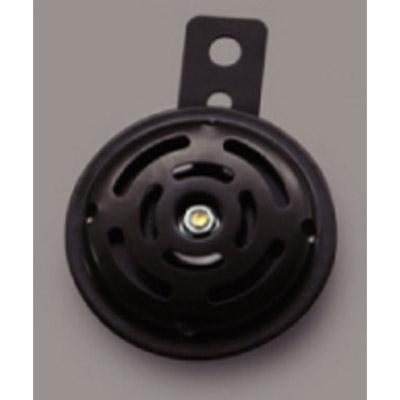 DAYTONA 〔WEB価格〕ホーン12V 外径φ70 ステー渦穴φ6 ブラック