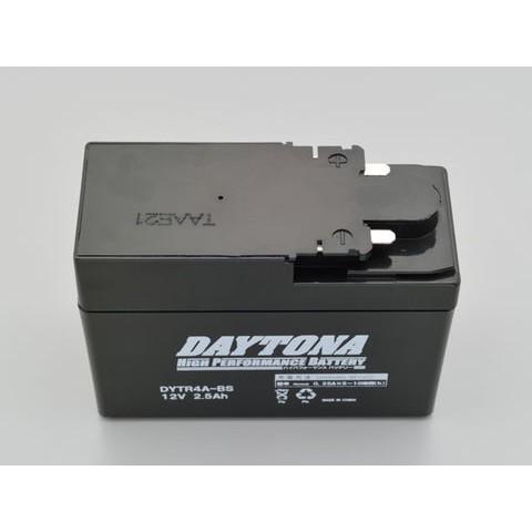 DAYTONA 92875 ハイパフォーマンスバッテリー【DYTR4A】MFタイプ